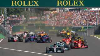 Scene from the Formula One Hungarian Grand Prix race. Photo: Xinhua/Attila Volgyi/IANS
