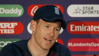 Eoin Morgan says the T10 format would be a better fit than T20, 50 overs or test cricket. Photo: Surjeet Yadav/IANS