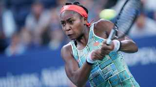 Teenage tennis star Coco Gauff: 'I was eight years old when Trayvon Martin was killed.'	Picture: Xinhua/Liu Jie/IANS