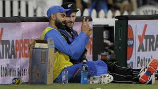 """India skipper Virat Kohli on May 22 sent out an Instagram post with New Zealand skipper Kane Williamson which read: """"Love our chats. Good man @kane_s_w."""" It once again showed the affection Kohli has for his New Zealand counterpart and Williamson has now spoken about the journey the two have shared. Photo: Surjeet Yadav/IANS"""