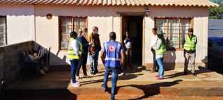 Community screening for Covid-19  in Galeshewe in the Northern Cape. Picture: Danie van der Lith