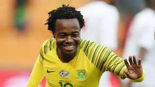 Percy Tau is reaping the rewards of a great season in Belgium. Photo: Muzi Ntombela/BackpagePix
