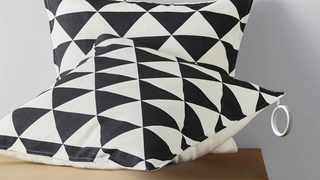 Friendly Zipper can be attached to cushions or duvet covers to allow for easy grabbing.