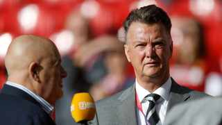 FILE - Former Manchester United manager Louis van Gaal (right). Photo: Reuters/Carl Recine