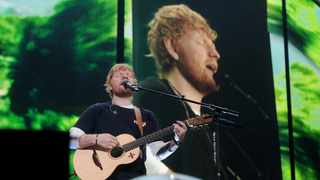 Ed Sheeran performing at Cape Town stadium.  Picture: David Ritchie/African News Agency(ANA)