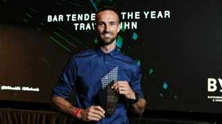 South Africa's current BAR Awards Bartender of the Year and Best Pop Up Bar title holder, Travis Kuhn. Picture by Warren Rasmussen.