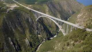 The Bloukrans Bridge is one of the highest bungee spots in Africa. Photo:IH Cape Town