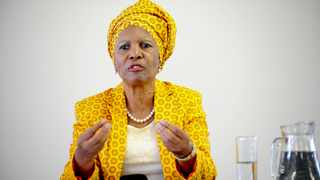 Linda Gobodo of Vuka Africa Foundation briefs the media on the ruling of the Cape High Court in matter of the New Nation Movement and others vs the president, minister of Home Affairs, the IEC and the speaker of the National Assembly.  Picture: Nokuthula Mbatha/African News Agency(ANA)