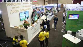 Africa's Travel Indaba attracted more than 7000 visitors to Durban. Picture: Motshwari Mofokeng/African News Agency(ANA)