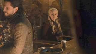 The Starbucks coffee cup in Winterfell Picture: Twitter