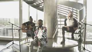 Kwesta, Refentse and Elandré. Picture: YouTube/Screengrab