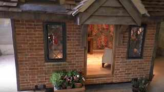 It is Charlton's second showing at Chelsea after she founded her bespoke playhouse company Wallgarden four years ago. Picture: YouTube.com