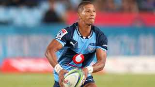 Manie Libbok scored a try, two conversions and a penalty for the Bulls against the Blues on Friday. Photo: Muzi Ntombela/BackpagePix