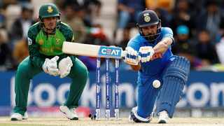 India's Rohit Sharma in action against South Africa. Photo: Action Images via Reuters/John Sibley