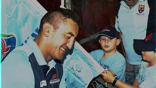 Tahs's coach Daryl Gibson stepped down on Friday. Photo: @NSWWaratahs on twitter