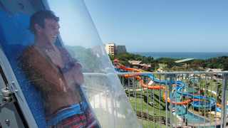 The Sardine Run is a big tourist drawcard for the South Coast. Travellers use this an opportunity to explore the area. Wild Coast Sun Wild Waves Water Park is just one of many attractions. Picture: Sun International.