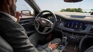 Cadillac's Super Cruise is one of many modern semi-autonomous driving systems. Picture: GM.