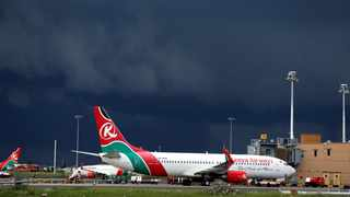 British investigators were working to identify a man who apparently fell out of the landing gear compartment of a London-bound Kenya Airways flight and plunged to his death in the garden of a home, police said. Picture: Reuters/Thomas Mukoya/File Photo