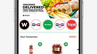 Zulzi is an on-demand delivery grocery platform where customers can order anything from major retailers.  Photo: Supplied
