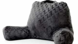 The Malouf Z Lounge pillow is designed for sitting on floors or in backless seats. Pic: Supplied