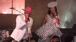 Mafikizolo on stage at the The Glenlivet JazzTown. Supplied picture.