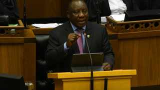 President Cyril Ramaphosa at the National Assembly on Thursday to reply to the debate on the Presidency's budget vote. Picture: GCIS