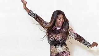 Motsi Mabuse's dancing for joy after being named as the new judge on the BBC top show 'Strictly Come Dancing'. Picture: Instagram