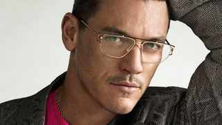 Luke Evans is the new face of Versace's eyewear campaign. (Picture: Instagram)