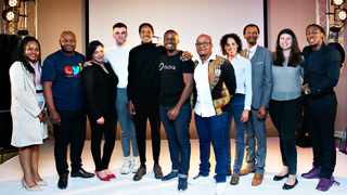 The winners of the AlphaCode startup programme. Photo: Supplied