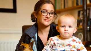 Dog trainer and animal behaviourist Jo-Rosie Haffenden claims to have used the same techniques she uses to train dogs on her own children. Picture: Twitter.com