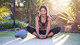 Working out at home is as effective as going to the gym. Picture: Pexels