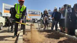The Mayor of Johannesburg Herman Mashaba officially launched the R144 million Joburg People's Market expansion project.  Photo: Supplied