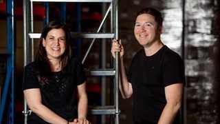 Allsale Club co-founders Justin Drennan and Michelle Lehrer. Photo: Supplied