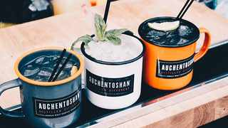 Auchentoshan whisky is the perfect serve for your whisky sipping people, and can be enjoyed on the rocks. Picture: Supplied