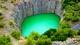 The Northern Cape is home to many activities for the entire family. The Big Hole is one such attraction. Picture: Supplied.