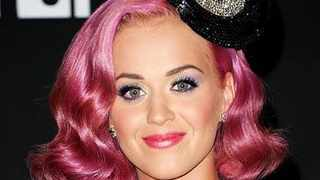 """Katy Perry """"stayed up all night"""" turning her hair from black to pink because her colourist wanted to transform it slowly to avoid damaging her locks. Picture: Instagram"""