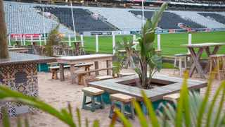Kingston Beach Club will screen all the Springbok Rugby World Cup matches at their Kingston Fan Park. Picture: Supplied.