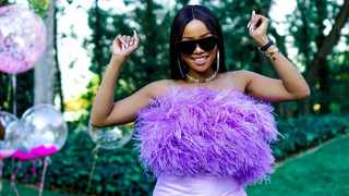 South African personality Bonang Matheba hosted a lavish House of BNG luncheon at the Maslow Hotel in Johannesburg. Picture: Instagram