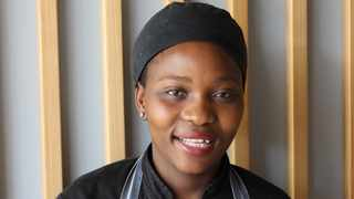 Nosipho Mngoma's dream of becoming a chef becomes true at Park Inn by Radisson, Newlands. Supplied