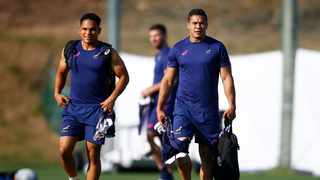 Herschel Jantjies with Cheslin Kolbe have been two players that have stood out for the Springboks so far at the World Cup. Photo: Steve Haag Sports/Hollywoodbets