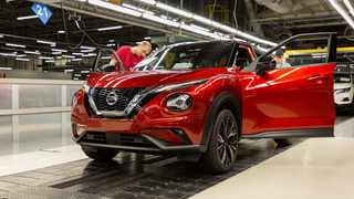 Although Nissan will focus less on Europe, it will still offer core SUV products such as the new Juke (pictured) and Qashqai. File picture: Nissan.