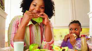 Parents should keep their children fit, active and eating well to ensure that they do not become overweight. Picture: Flickr