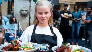 Elissa Knighton-Fitt won the Pavilion Junior Chef 2019 competition. She said that her passion for cooking was ignited at an early age when her father gave her  small cooking tasks in the kitchen