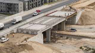 The dualling of Sandown Road and Malibongwe Drive up to the Potsdam interchange is making good progress and is scheduled to be completed by July 2020. Picture: City of Cape Town/Supplied