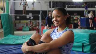 Gymnast Caitlin Rooskrantz will be representing South Africa at the 2020 Olympic Games in Tokyo. Picture: Karen Sandison/African News Agency (ANA)