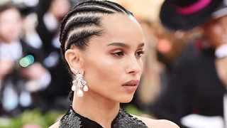 Zoë Kravitz prefers to keep her hair natural. Picture: Instagram