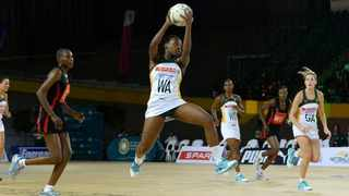 South Africa maintained their winning run at the African Netball Cup with a win against Kenya. Photo: @Netball_SA via Twitter