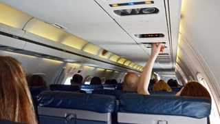 File photo: The couple were asked to stop when angrily confronted by a flight attendant. Picture: Flickr.com
