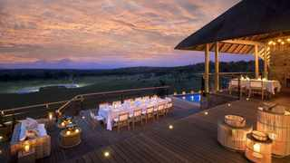 The 5-star Mhondoro Safari Lodge & Villa is less than three hours' drive from Johannesburg. Picture: Supplied