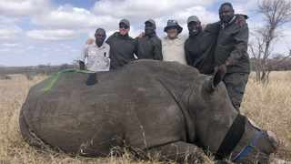 Safe anti-poaching, dehorning in the Manyeleti The Tintswalo Safri Lodge team. Picture: Supplied.